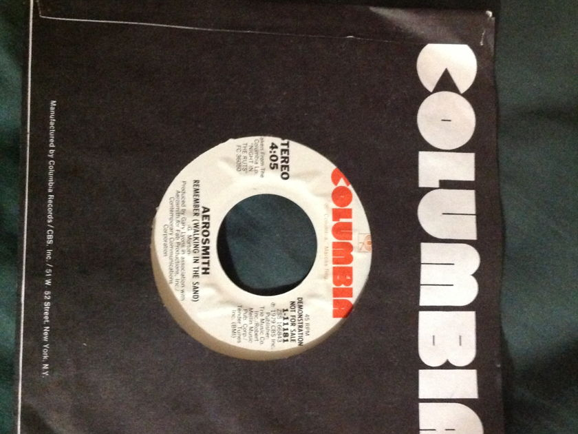 Aerosmith - Remember(Walking In The Sand) Promo 45 NM