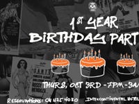 1st BIRTHDAY PARTY: LA CARNITA image