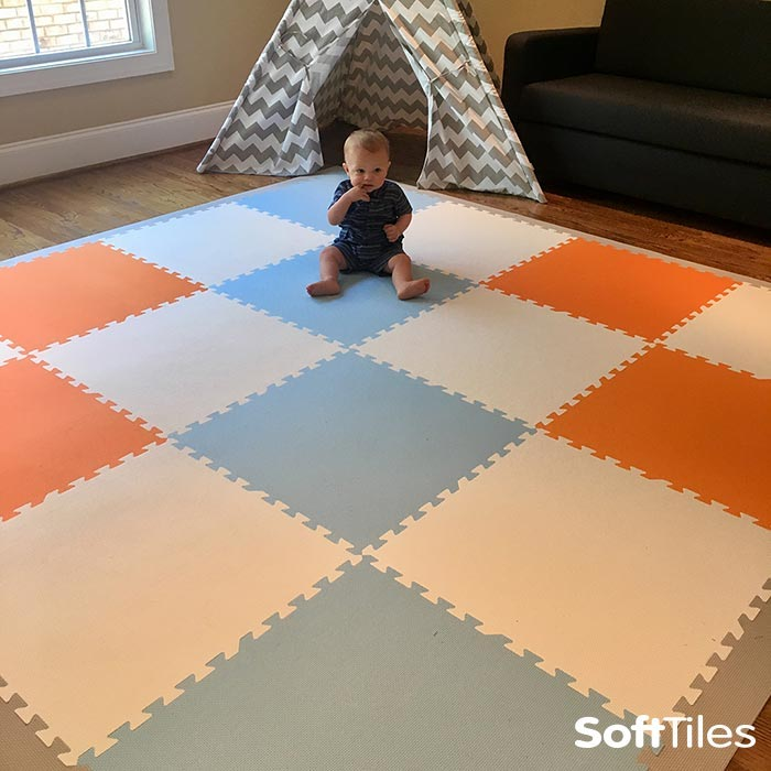 Stylish Play Mats Baby Mat For Sale Neutral Softtiles