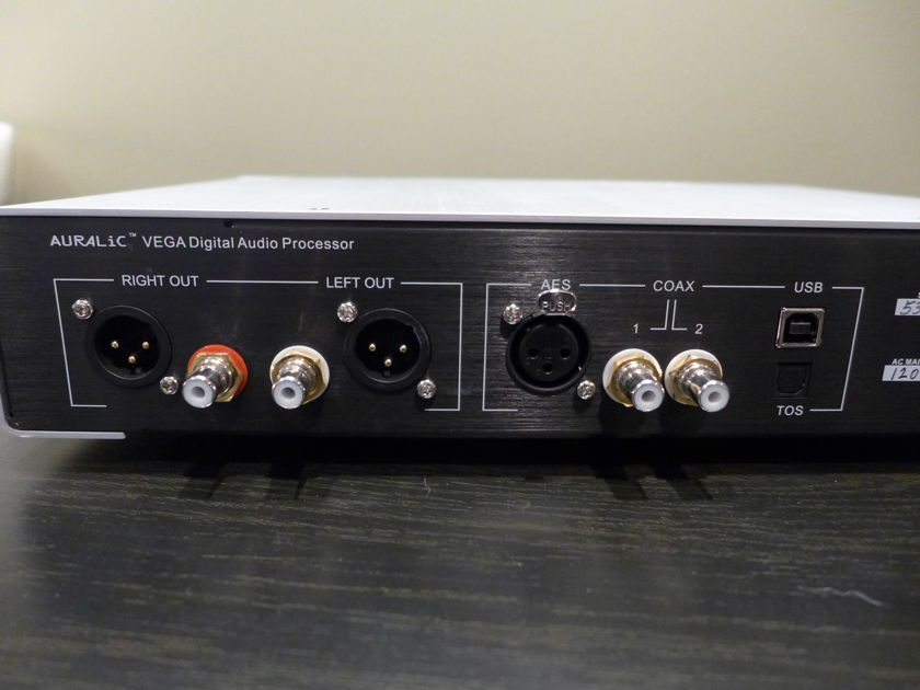 Auralic Vega DAC, Incredible sounding unit