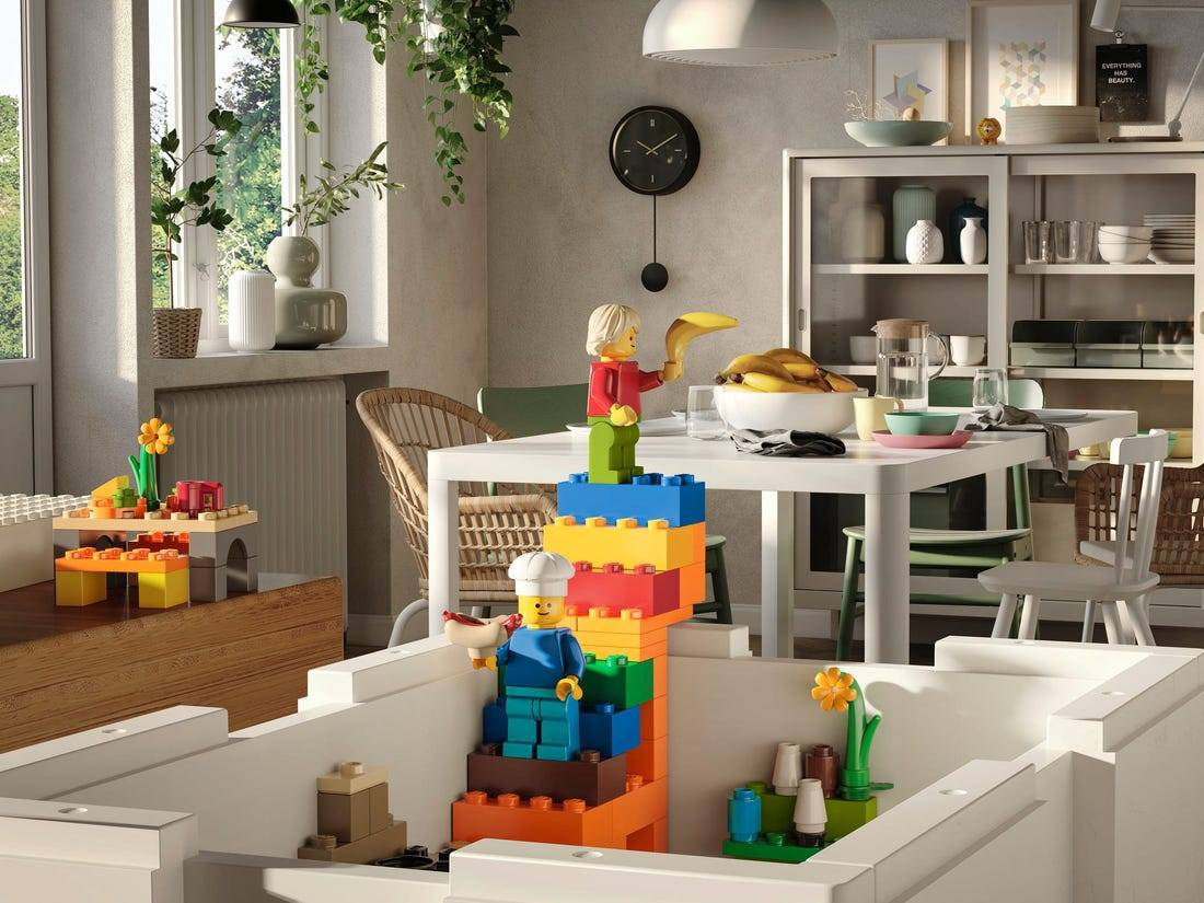 ikea and lego collabaration