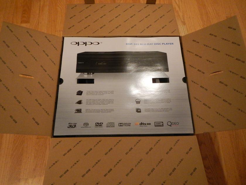 Oppo Digital BDP-105 Silver