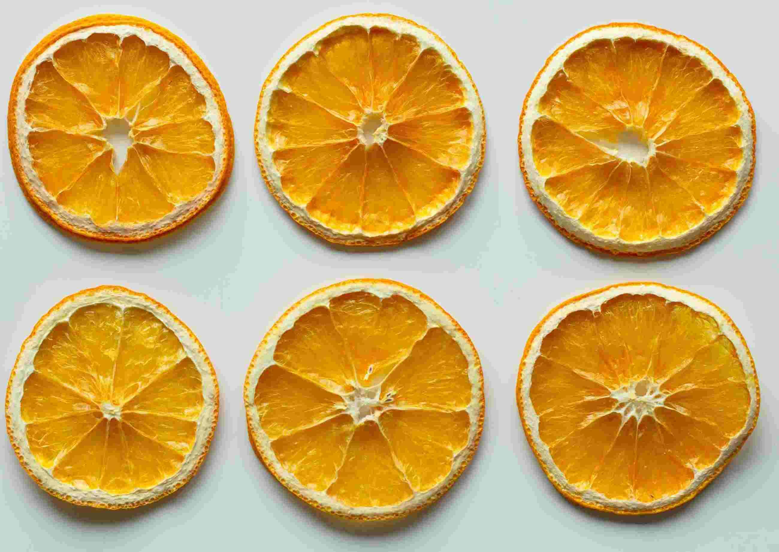 Cyclosas - Rondelle d'orange pour guirlande de noêl de fête de fin d'année, vitamine C