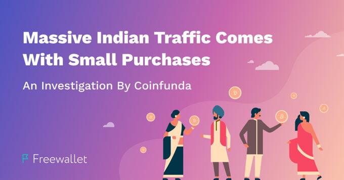Massive Indian Traffic Comes With Small Purchases: An Investigation By Coinfunda