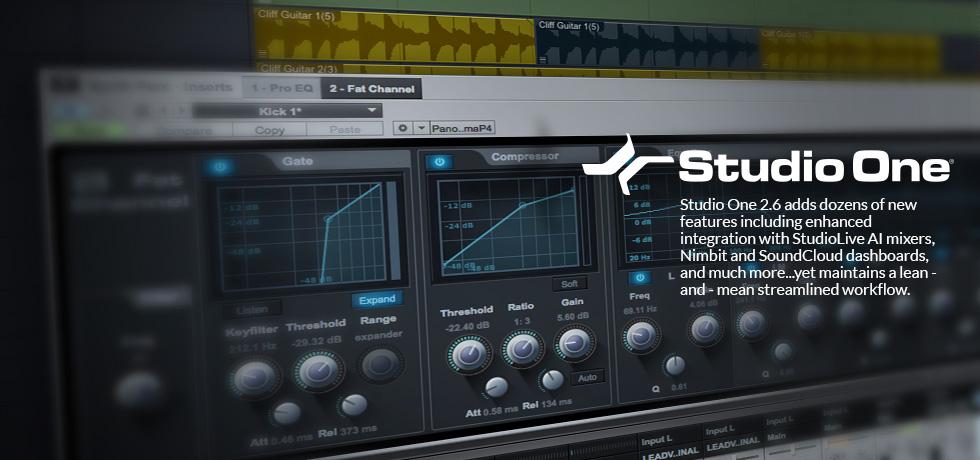 presonus studio one free software