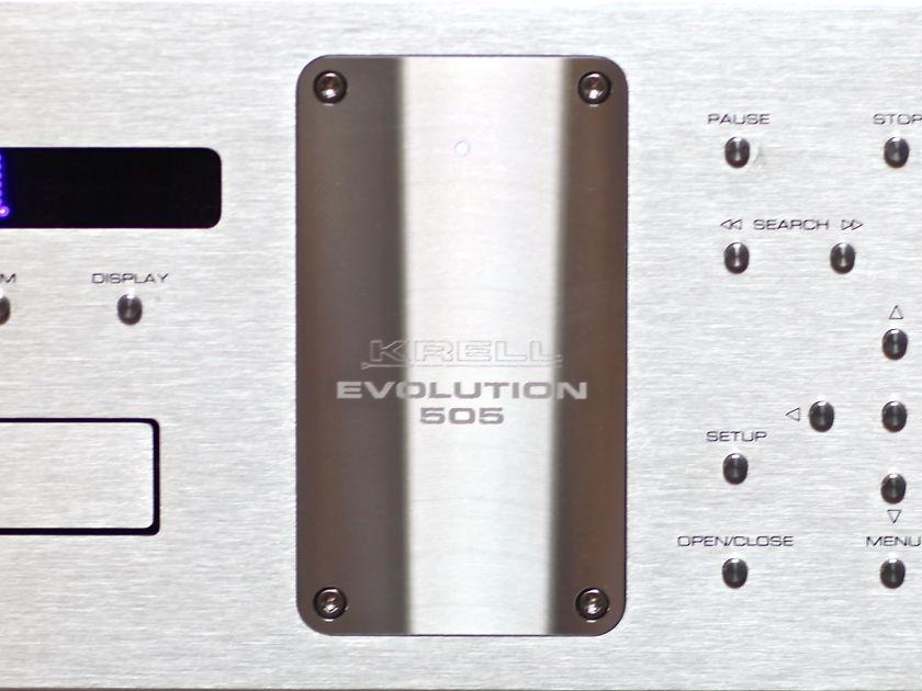krell evolution 505 sacd cd player cd sacd players