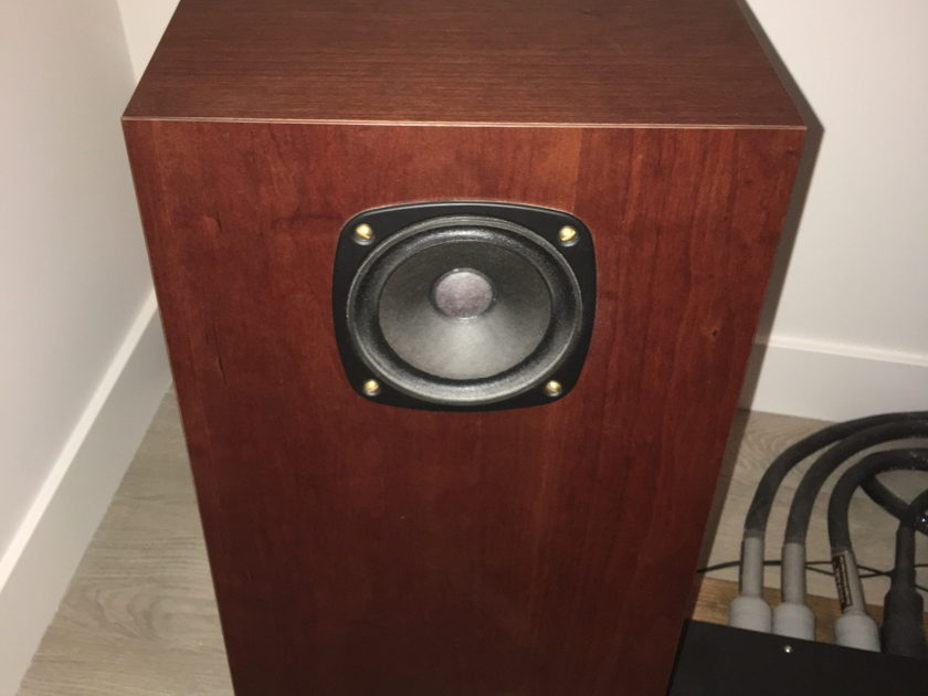 Omega Speaker Systems Super 3 XRS Speakers in Real Cherry (A Steal!)