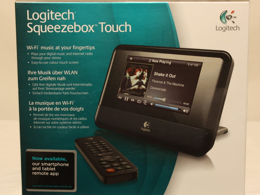 Logitech Squeezebox Touch Music Streamer.  Several For Sale. International Shipping Available.