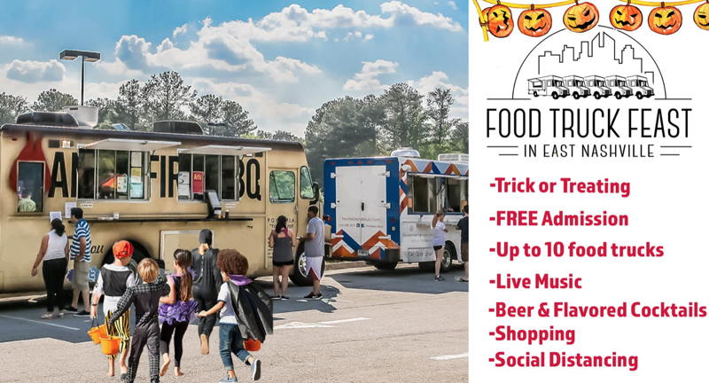Trunk or Treat with the Food Trucks