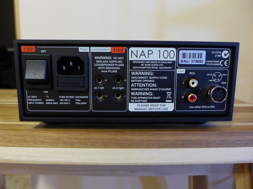 Naim Audio DAC-V1 and NAP100 Excellent!