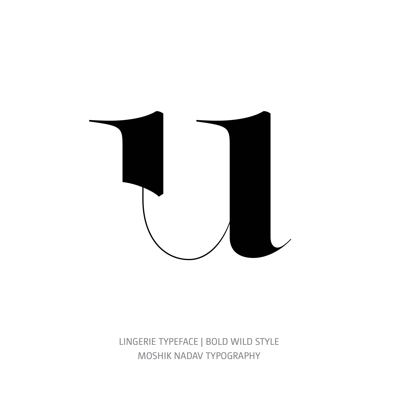 Lingerie Typeface Bold Wild u