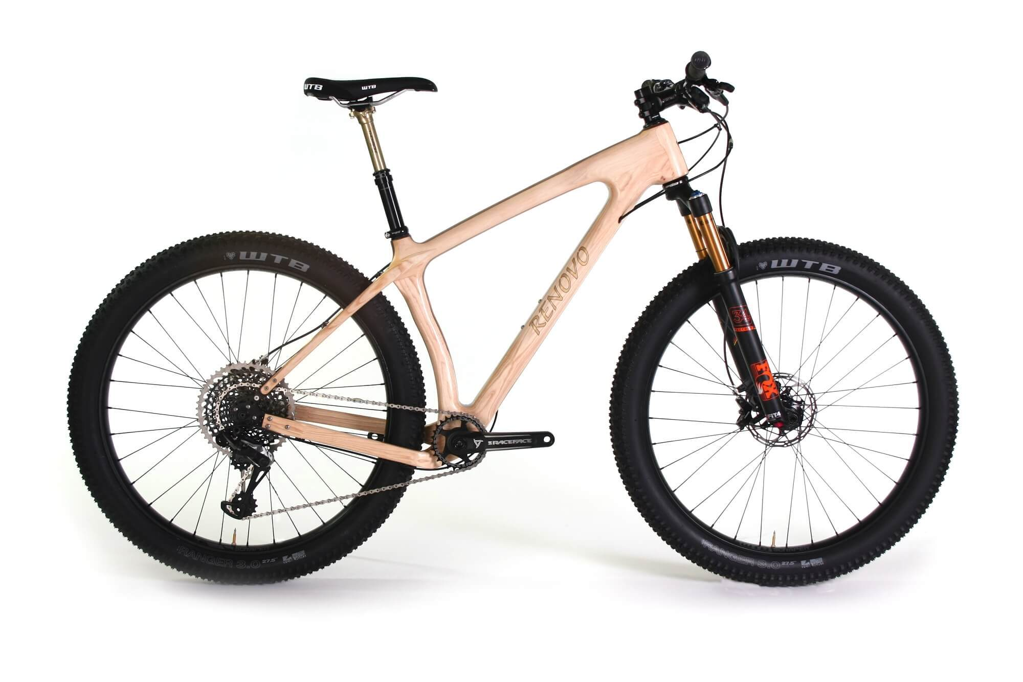 renovo wooden mountain bicycles renovo hardwood bicycles
