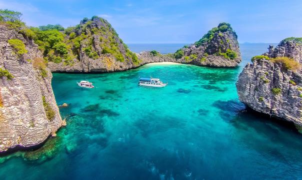 Затерянные острова Ко Ха и Ко Рок