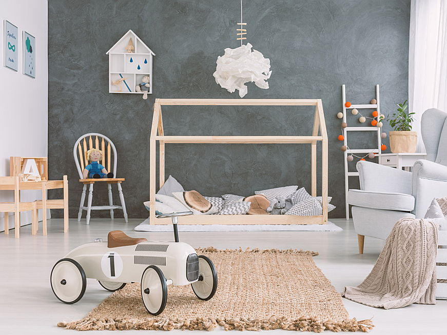 Sant Just Desvern - Six vintage-inspired ideas for a shabby chic nursery