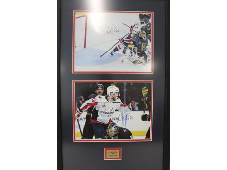 Signed Lars Eller Game-Winning Goal Photograph