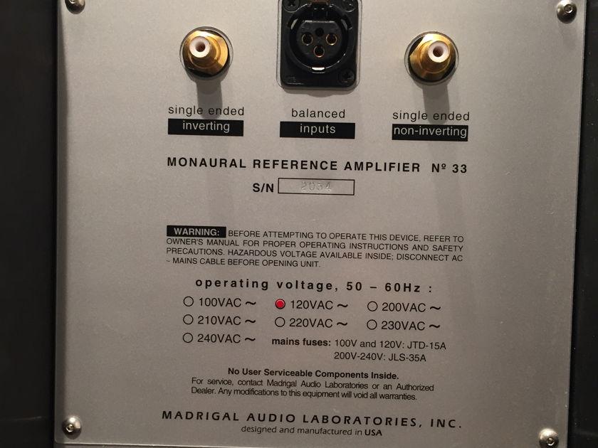 Mark Levinson No. 33 Power Amplifiers (Pair)