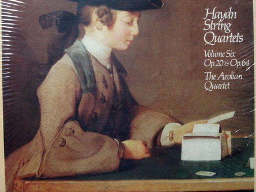 ★Sealed★ London-Decca / AEOLIAN QT,  - Haydn String Quartets Vol.6, 6LP Box Set!