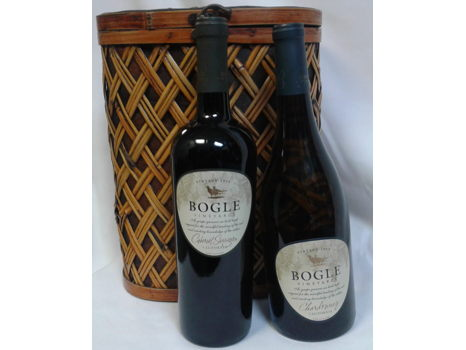 Wicker Wine Tote