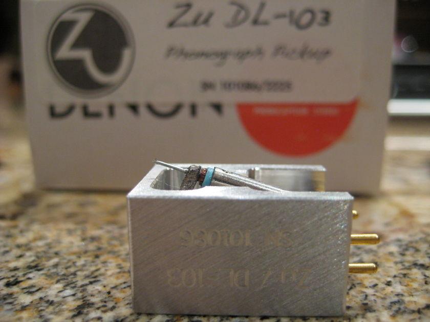 Zu Audio Denon DL-103 good specs/ light use
