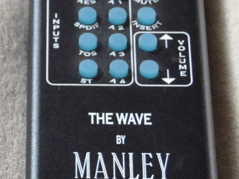 Manley Laboratories Wave Tube Pre with DAC