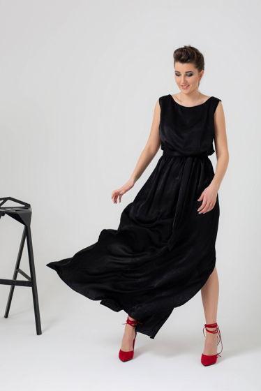fa96ffd9af4 Платье в пол с разрезами