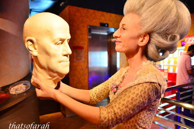 Музей восковых фигур Madame Tussauds