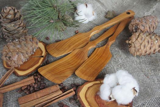 Лопатка для сковороды, вишня, 27-30 см