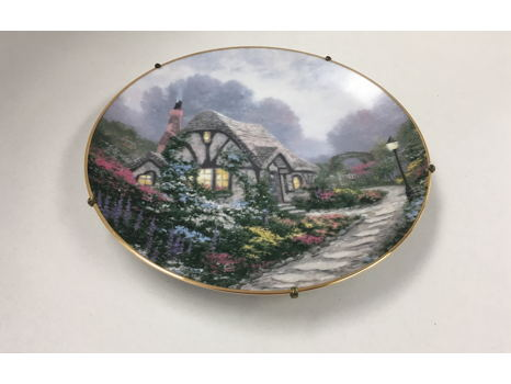 Chandler's Cottage, plate with hanger