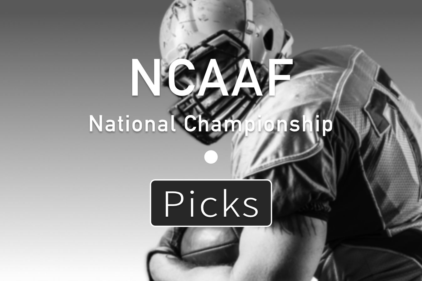 NCAAF National Championship 2021 Picks