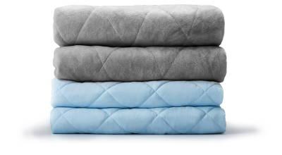 LEVIA Decke für Erwachsene - Grau