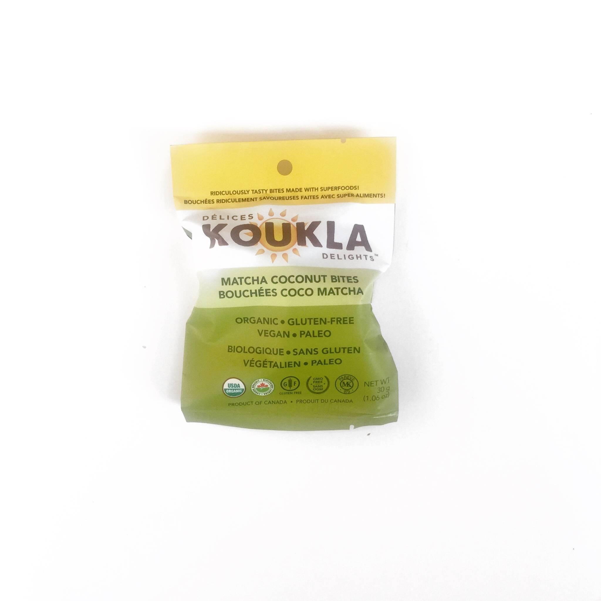 koukla delights delices bouchees coco matcha