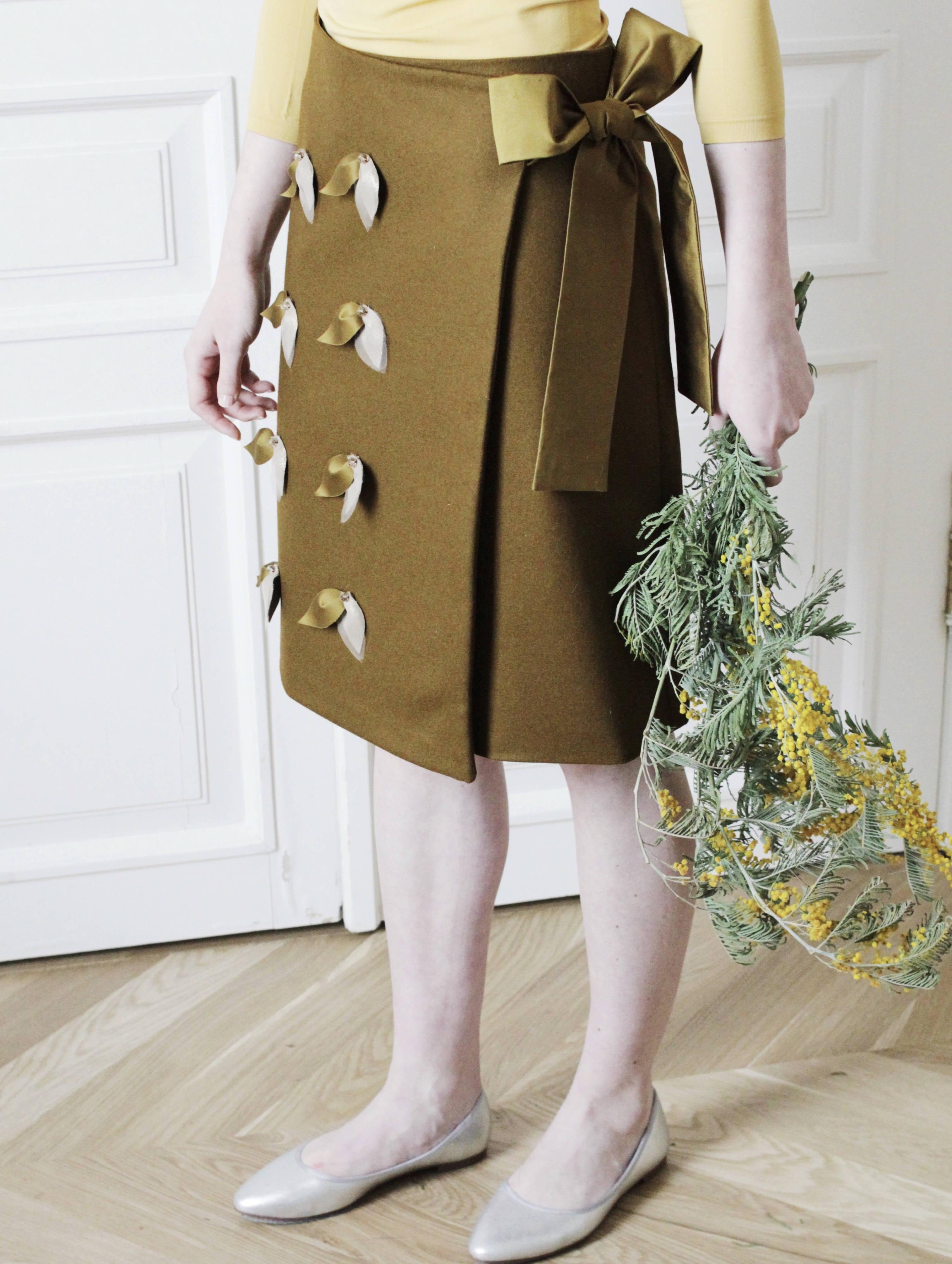 dc18c52068b Юбка с запахом в магазине «Losi.Losi.Couture» на Ламбада-маркете
