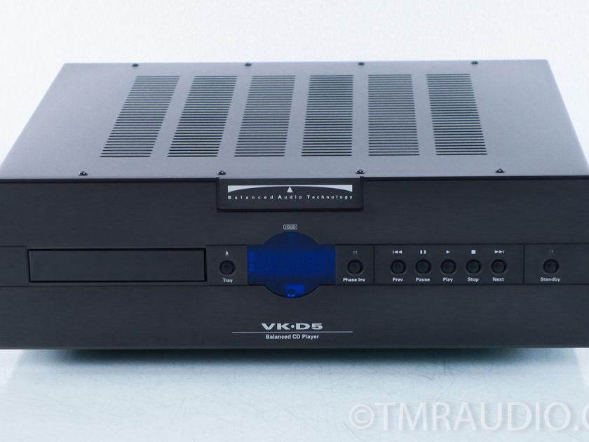 Balanced Audio Technology VK-D5 Balanced CD Player (9749)