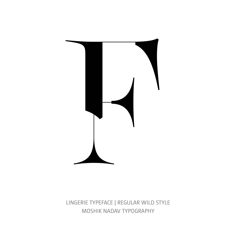 Lingerie Typeface Regular Wild F
