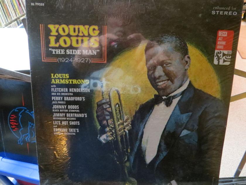 """LOUIS ARMSTRONG - YOUNG LOUIS """"THE SIDE MAN"""" 1924 - 1927 SEALED"""