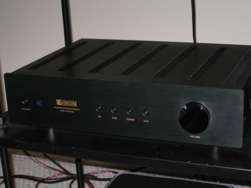 JOLIDA 1501RC Black Finish Integrated AMP
