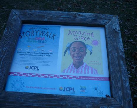 Amazing Grace StoryWalk