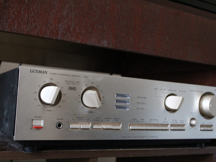 Luxman L430 Integrated Amp with phono inputs