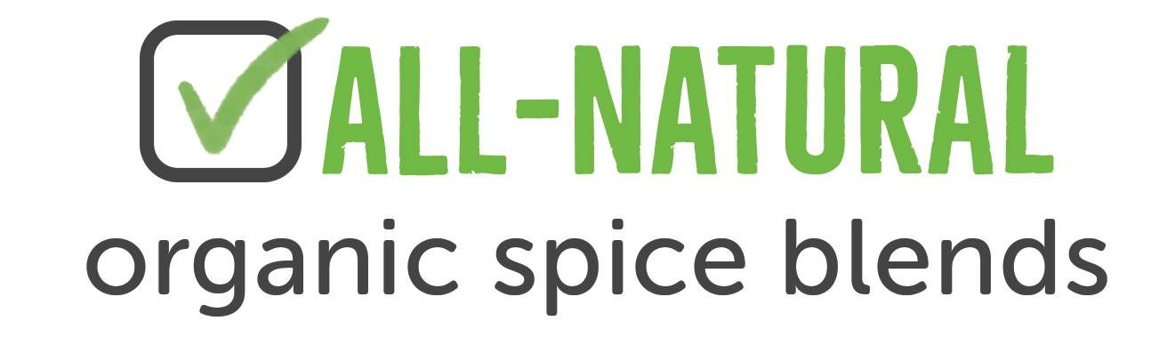All Natural organic spice blends