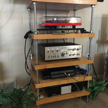 Hard Maple Audio Rack