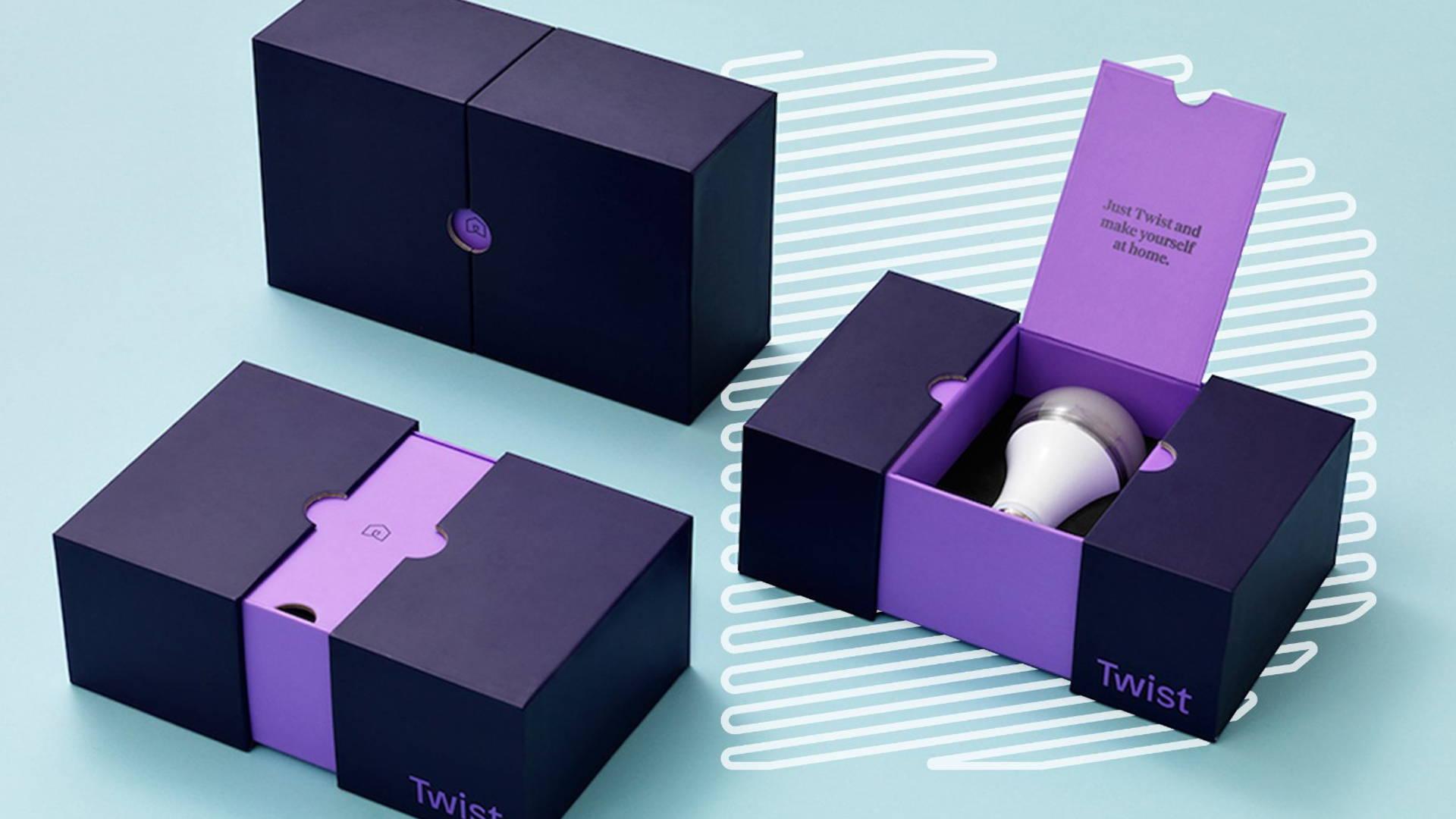 Example of custom packaging