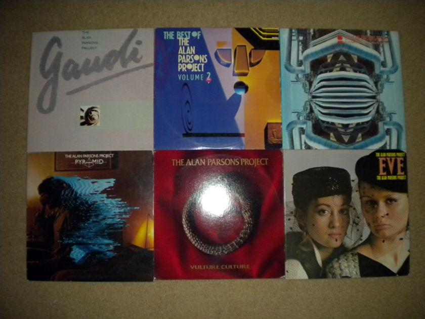 6 Lp Alan Parsons Project Lot,  - Progressive Rock - no resv