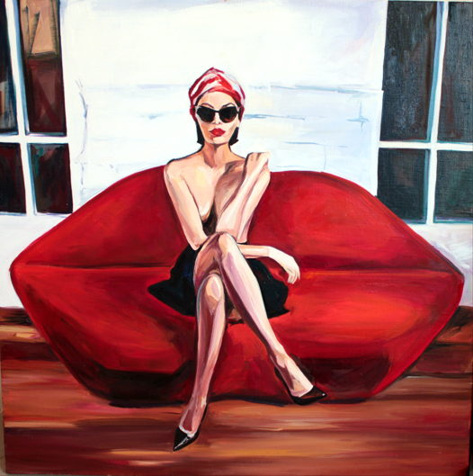 """Интерьерный Постер, """"Tanya"""", 41x41 cm"""