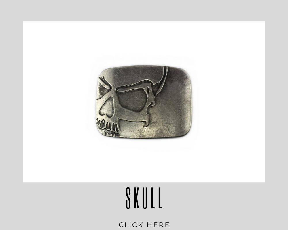 Corporate Custom Skull Belt Buckles