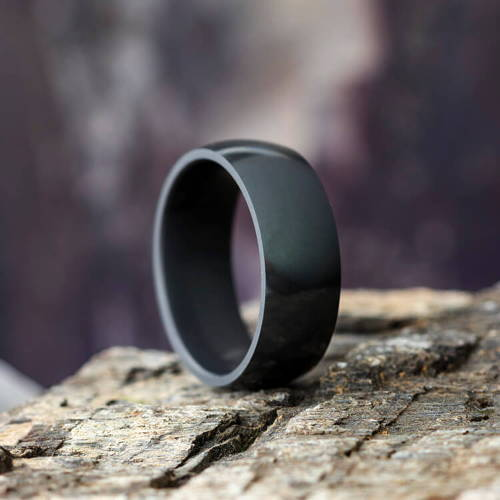 Black Elysium Wedding Bands