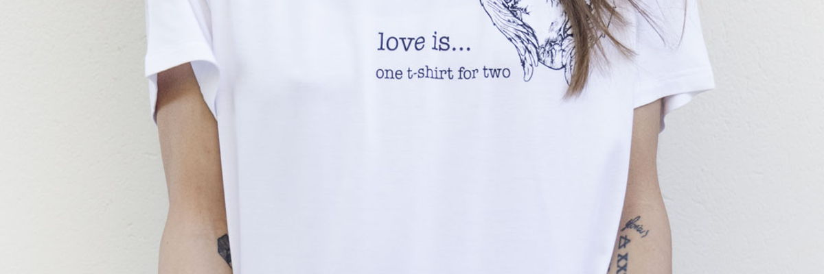 Love is...' photo