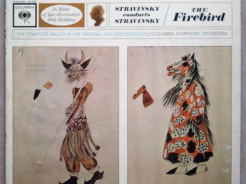 Columbia 2-eye/Stravinsky - conducts his The Firebird / EX