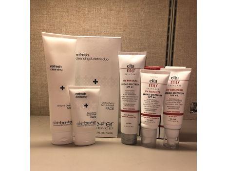 Dr. Carla Nip-Sakamoto: Elta Sunscreen Collection & Skin Better Cleansing Duo