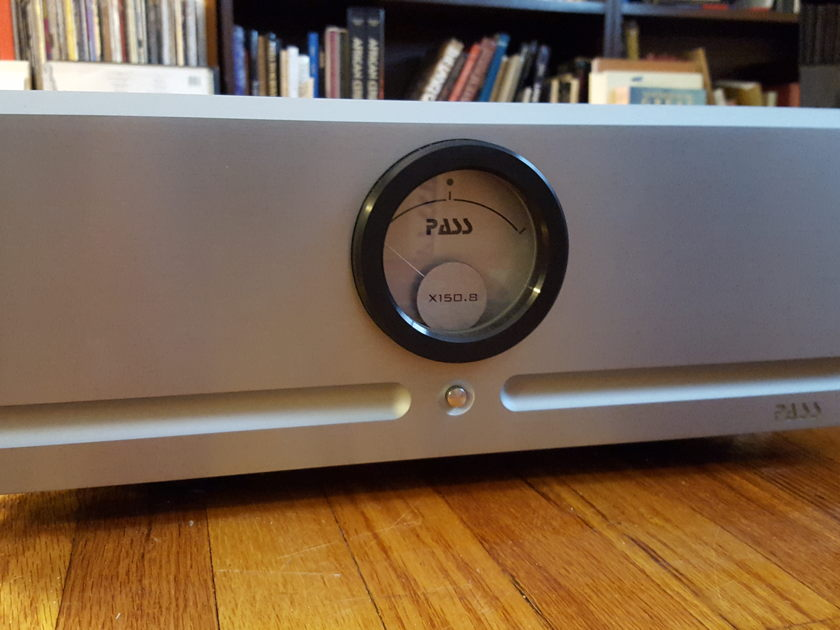 Pass Labs X150.8 :  The Very Definition Of A Giant-Killing Amp!