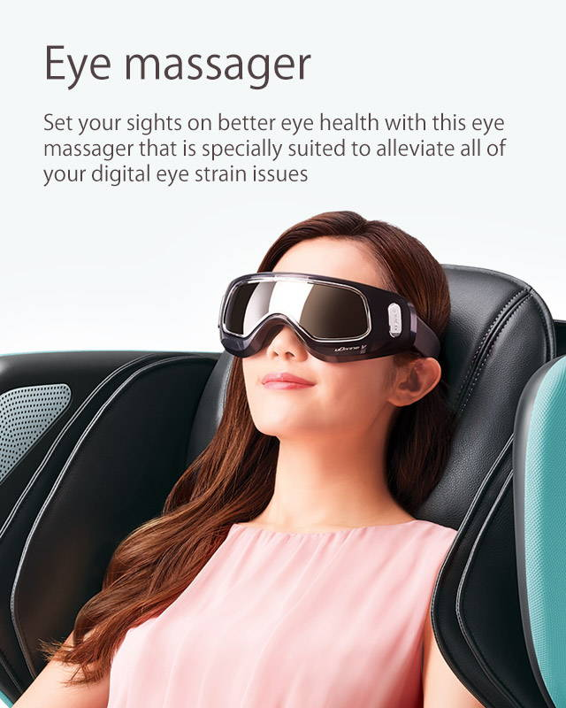 Eye Massager, alleviate all of your digital eye strain issues